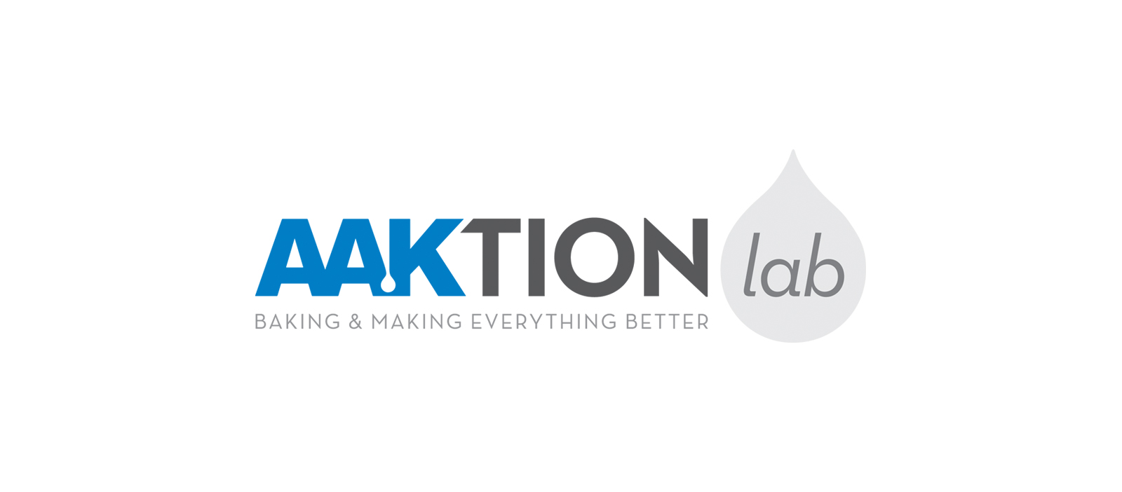 AAKtion Lab Baking & Making Everything Better Logo