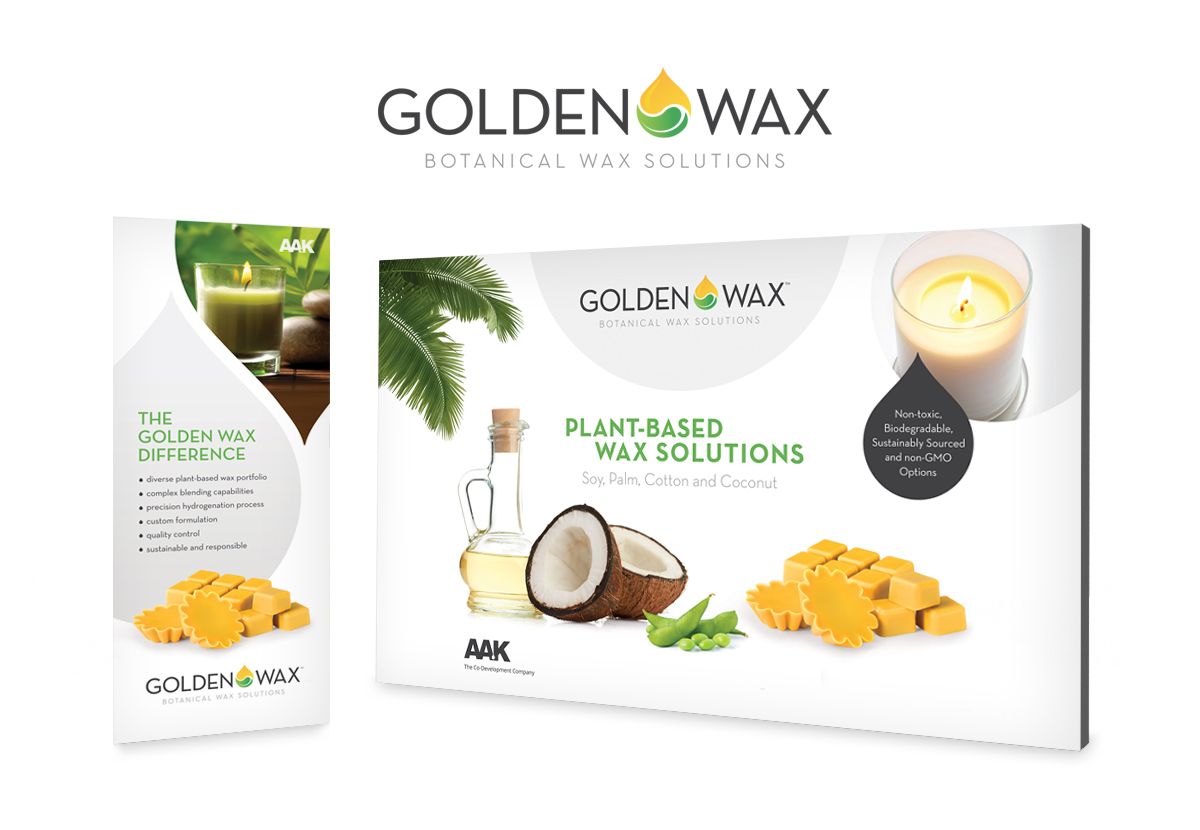 AAK Golden Wax Booth rendering example