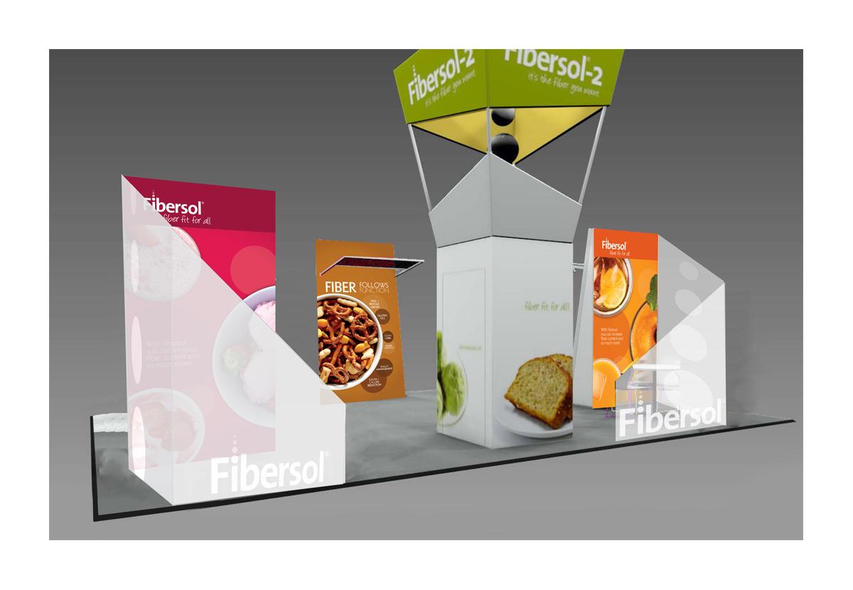 ADM Fibersol Booth rendering