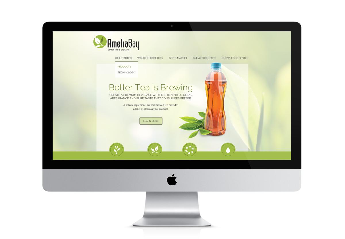 a]Amelia Bay Website screenshot