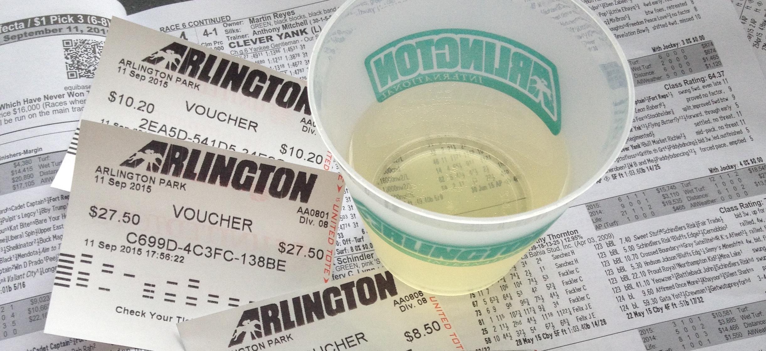 Arlington races event