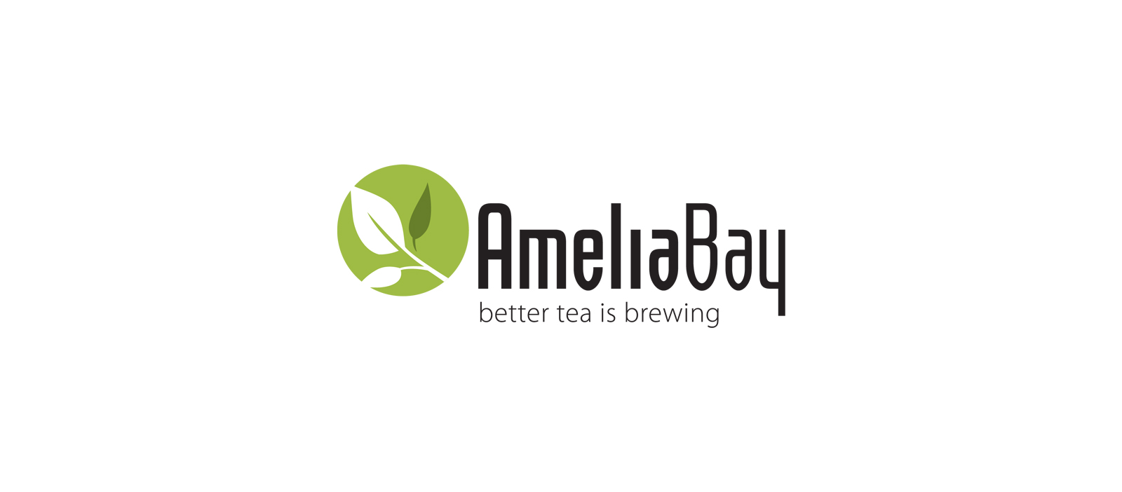 Amelia Bay better tea is brewing logo