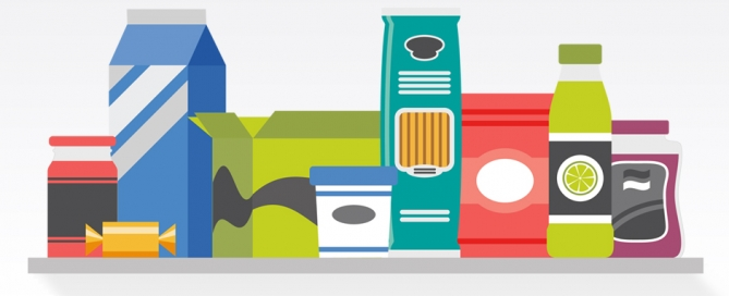 packaged goods graphic
