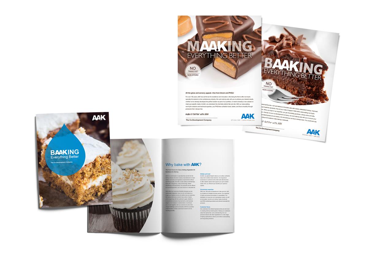 AAK baking brochure