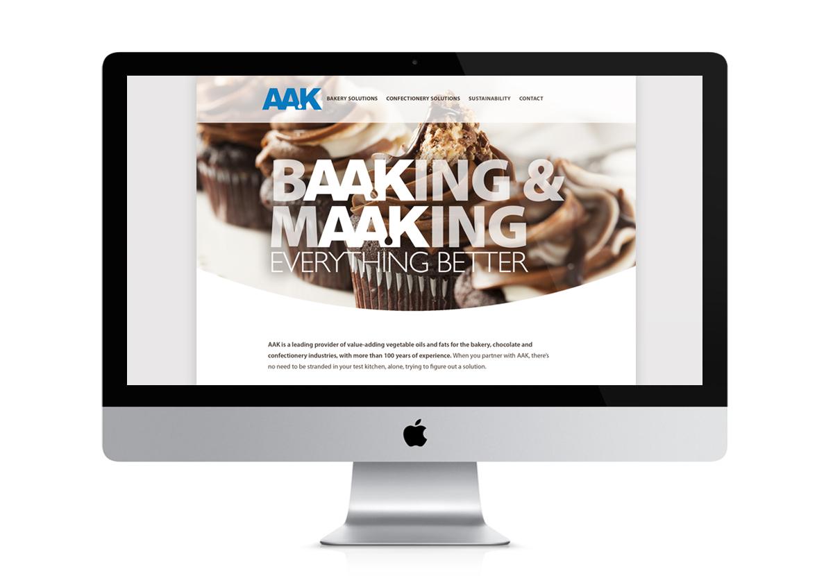 AAK Solutions website screenshot