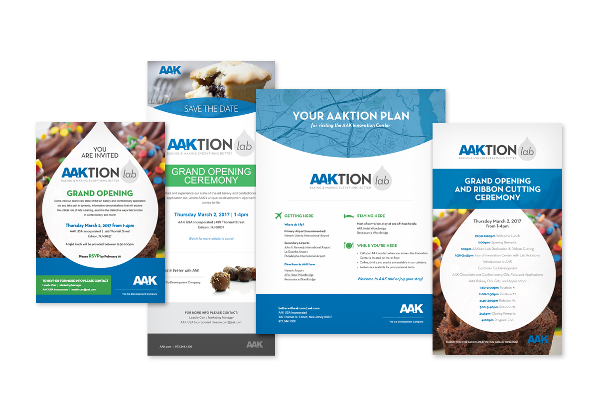 AAK grand opening materials