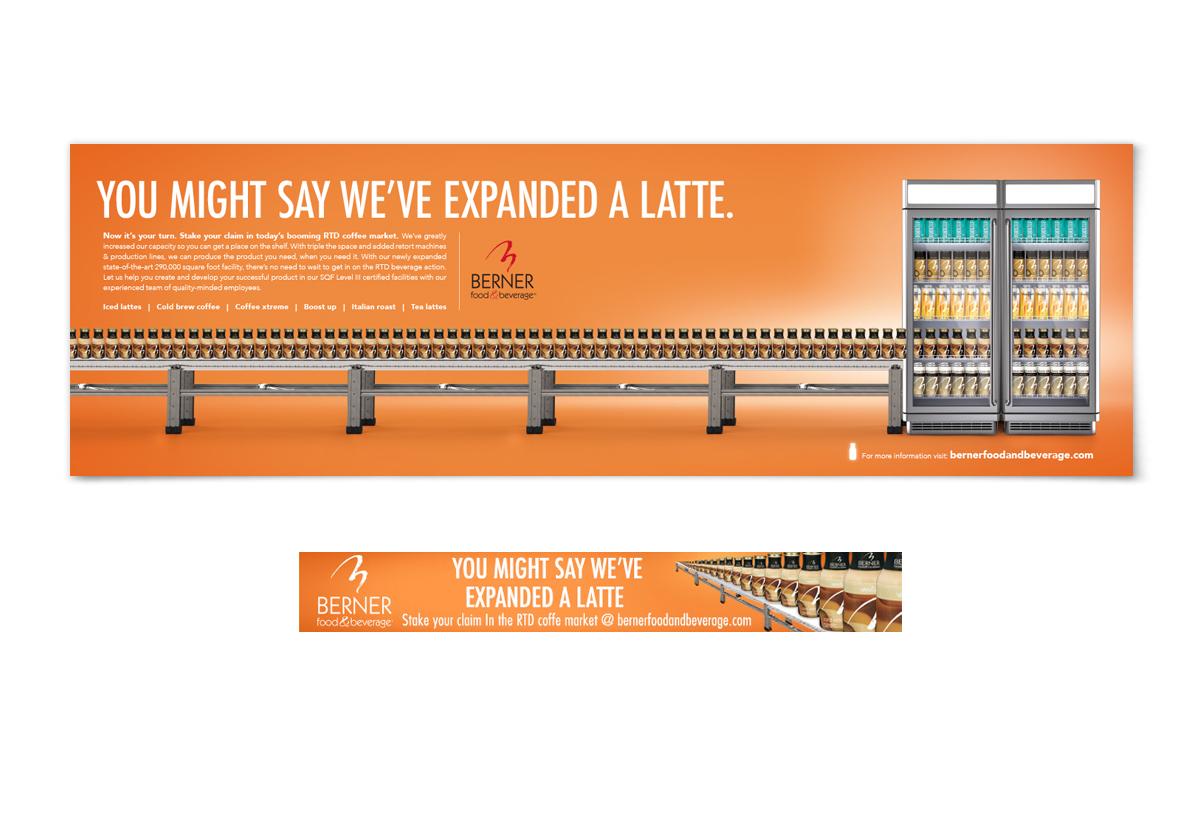 Berner beverage ad examples