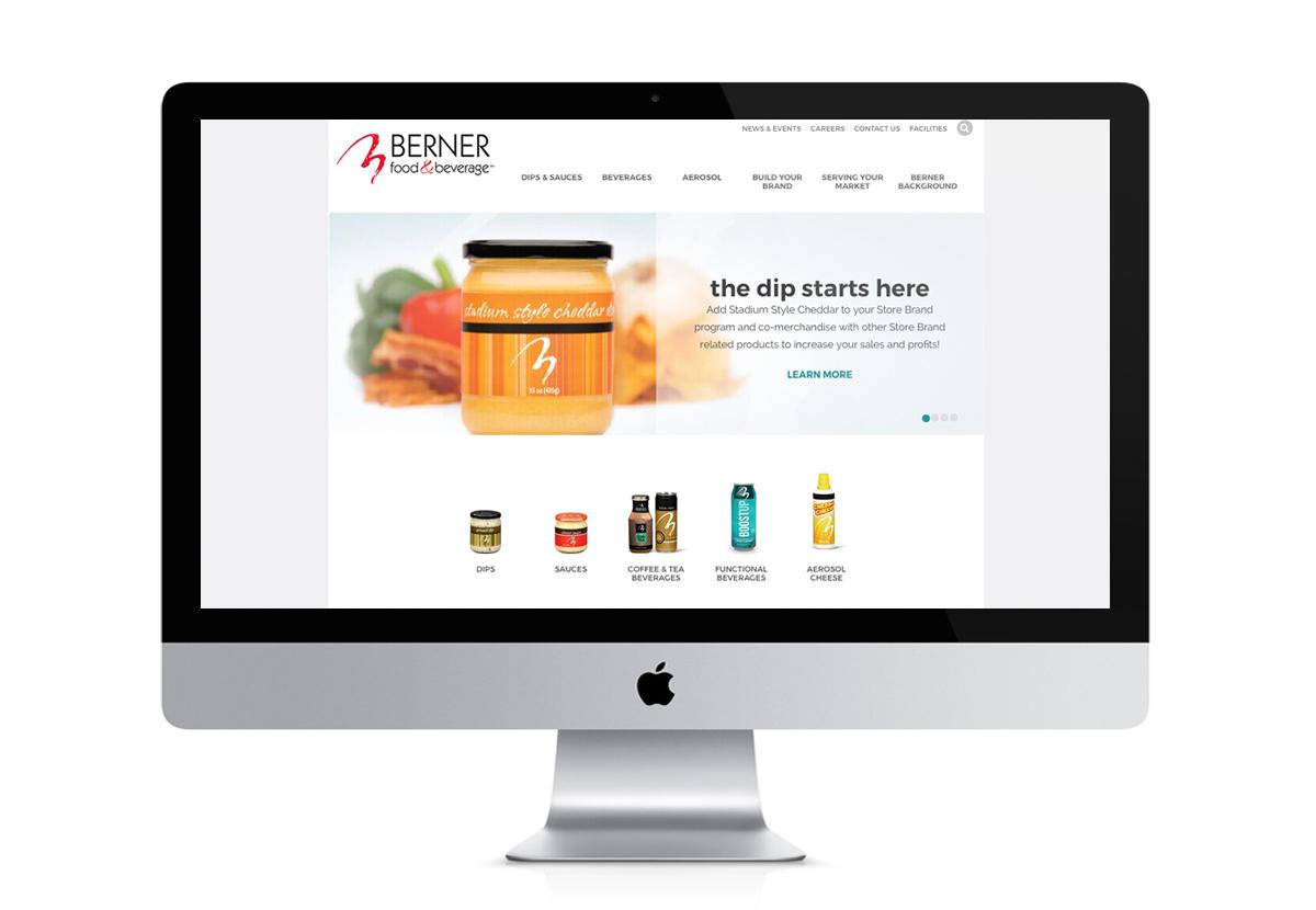 screenshot of BFD website