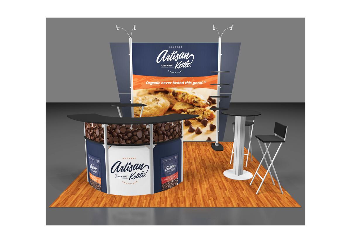 Clasen booth rendering
