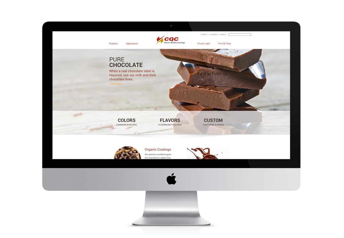 Clasen Website screenshot