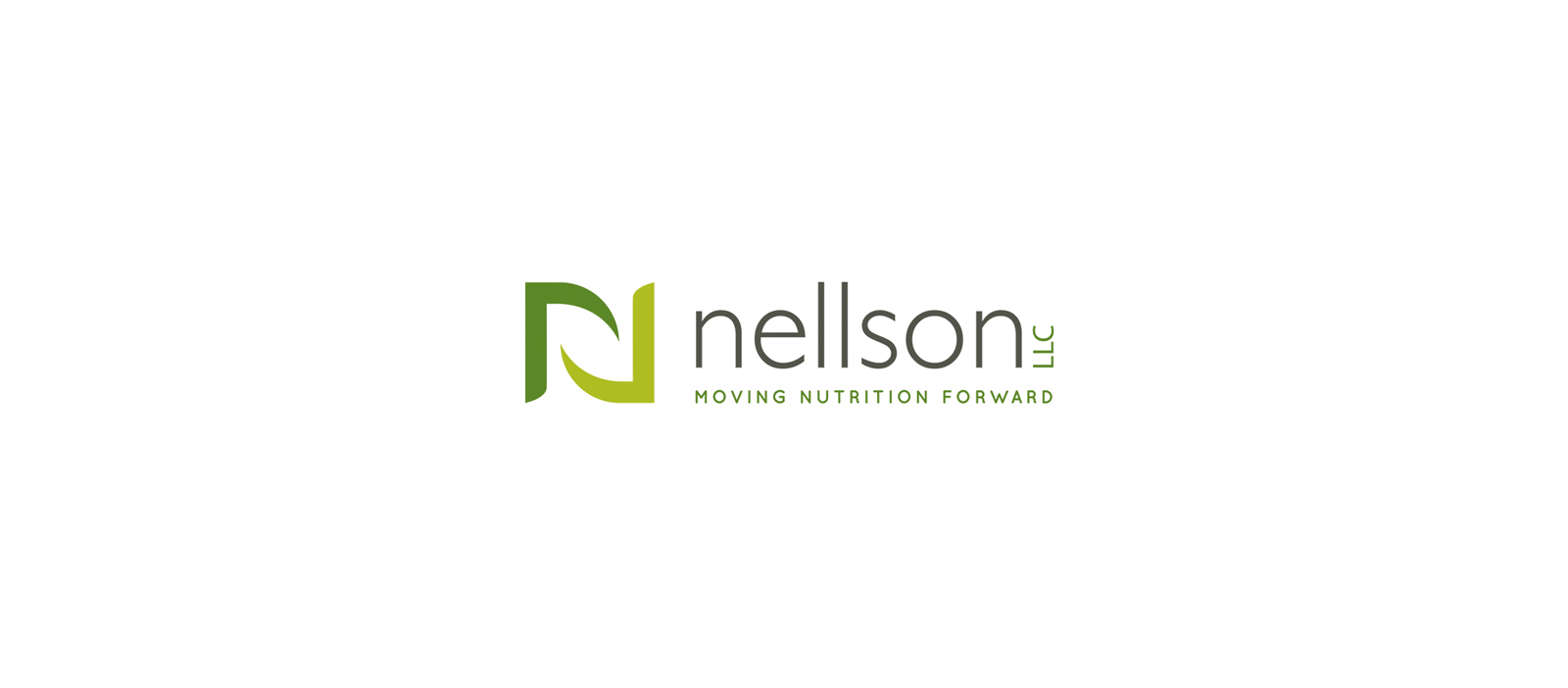 Nellson LLC: Moving Nutrition Forward Logo