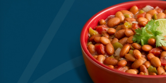 bowl of beans