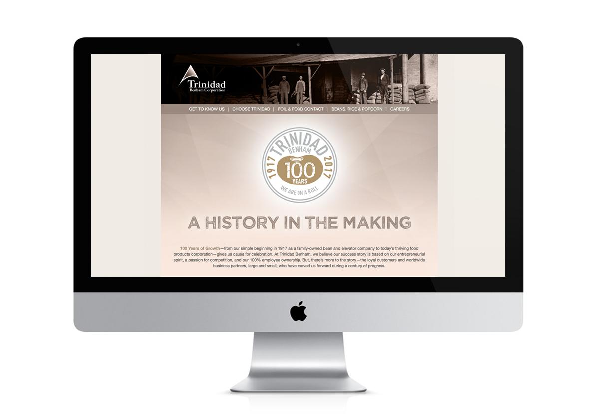 Screenshot of Trinidad website