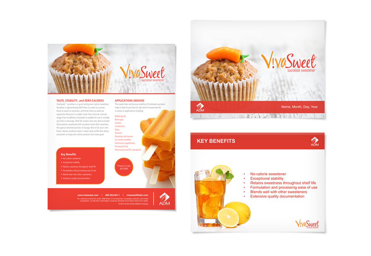 ADM ViviSweet Powerpoint slides