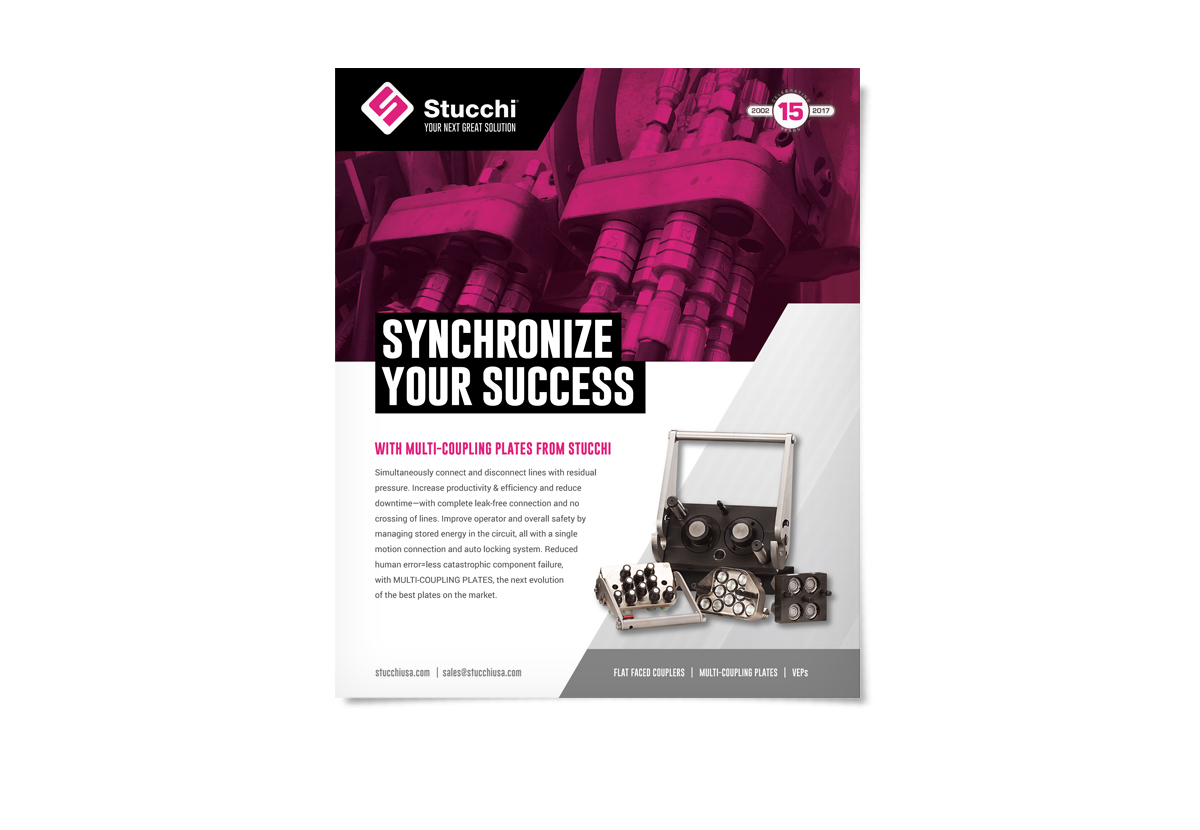 Synchronize Your Success multi-coupling ad