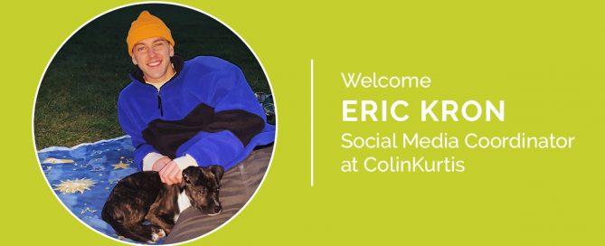 Social Media Coordinator, Eric Kron