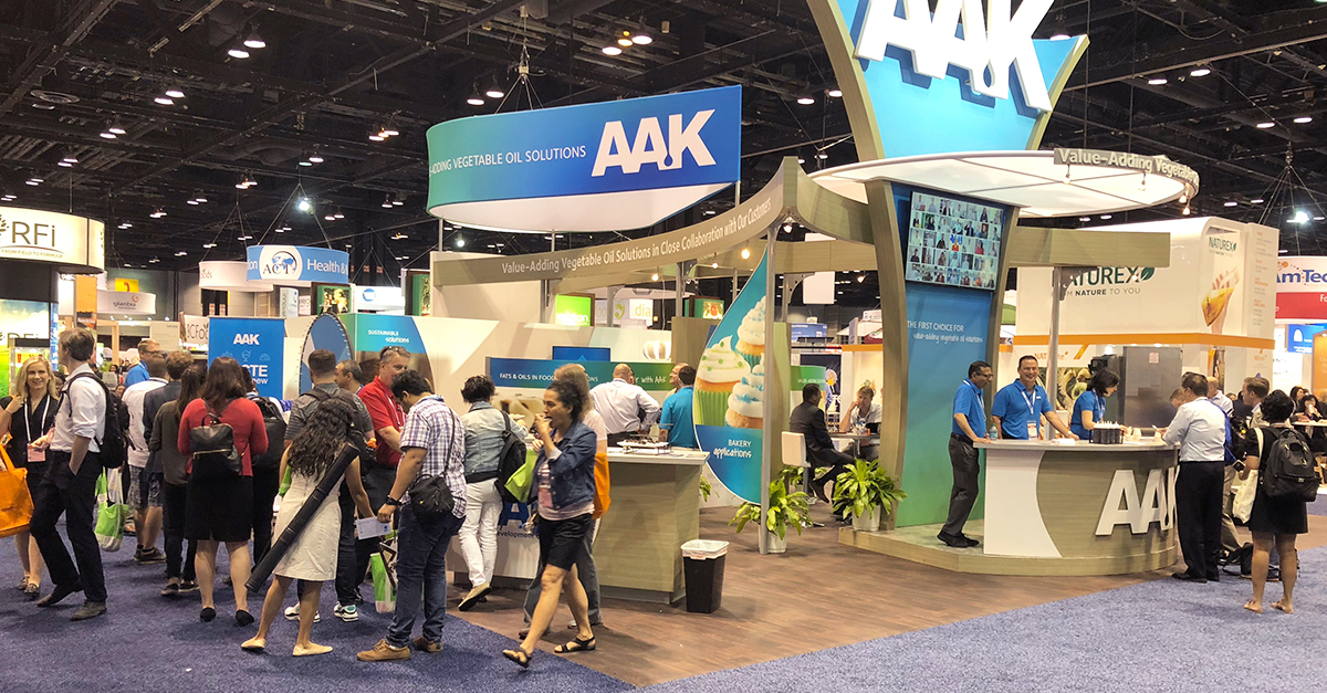 aak trade show booth